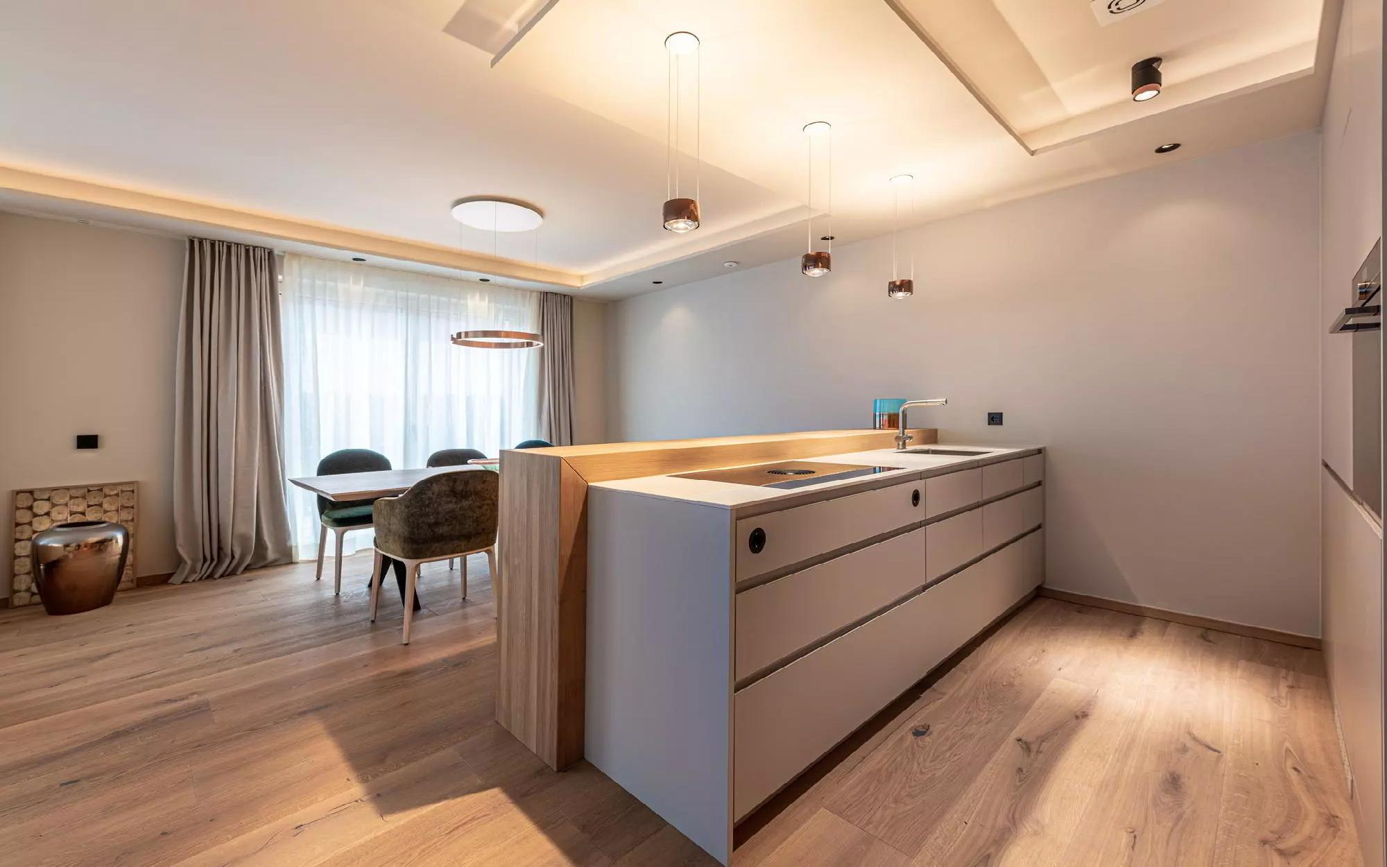 Newly built garden apartment in central location of Kirchberg for Sale