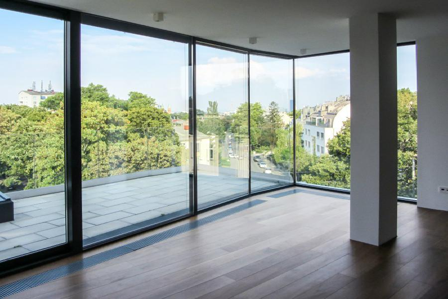 Real Estate in Austria - Exclsuive designer penthouse in Sievering