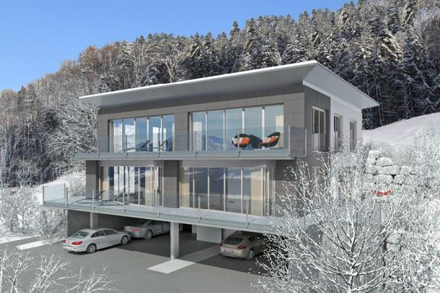 New panoramic Penthouse in Piesendorf for Sale - Salzburgland - Austria