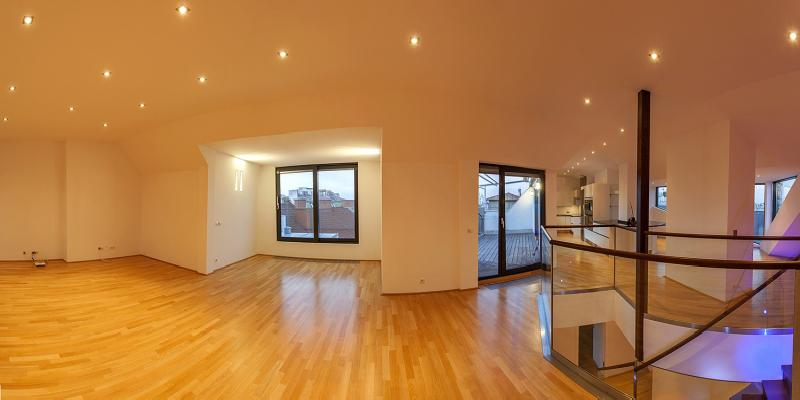 Exclusive penthouse in Vienna near Stadtpark for Sale