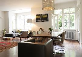 Exclusive duplex apartment with garden for sale