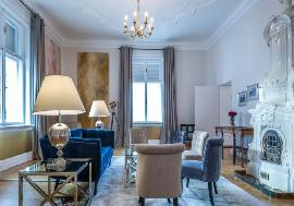 Real estate in Austria - Vienna - Furnished beautiful classical apartment close to the Opera For Rent - 4th District (Wieden) -