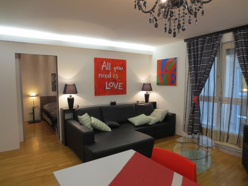 Completely furnished luxury apartment for Rent