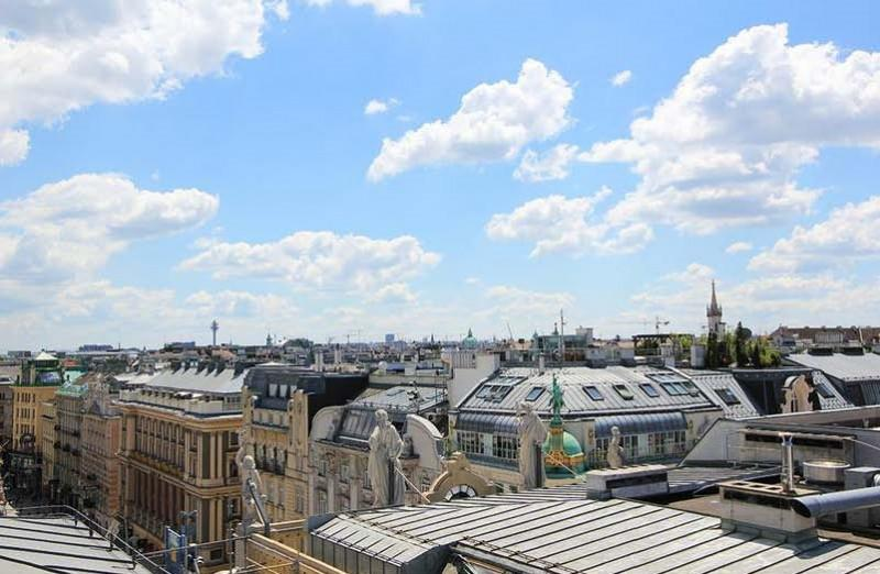 Immobilien - Exklusives Penthouse mit Dachterrasse, 1st District (Innere Stadt)