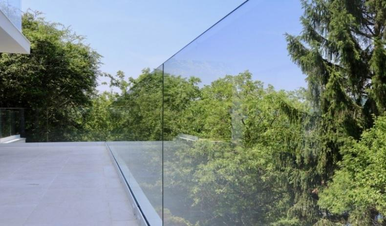 House in Vienna with a dreamlike view over the Wienerwald
