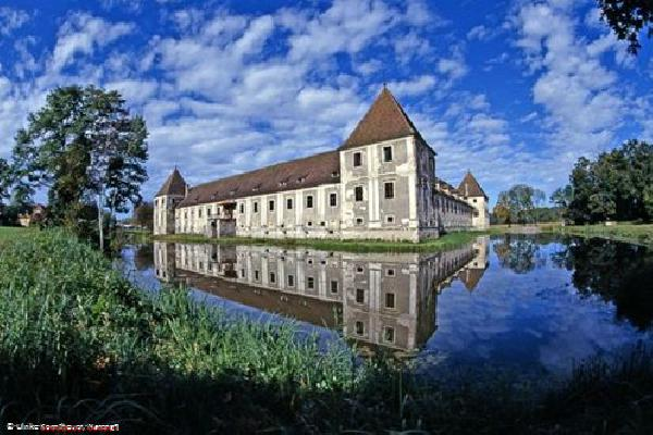 Water castle in Styria close to Feldbach