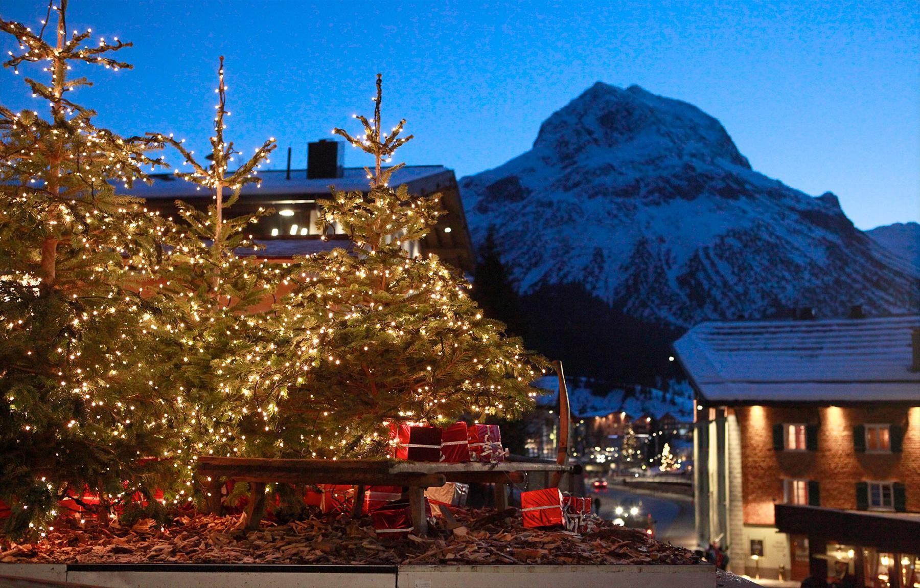 Immobilien - Ungewöhnliche 4-Zimmer-Wohnung in Lech, Lech am Arlberg