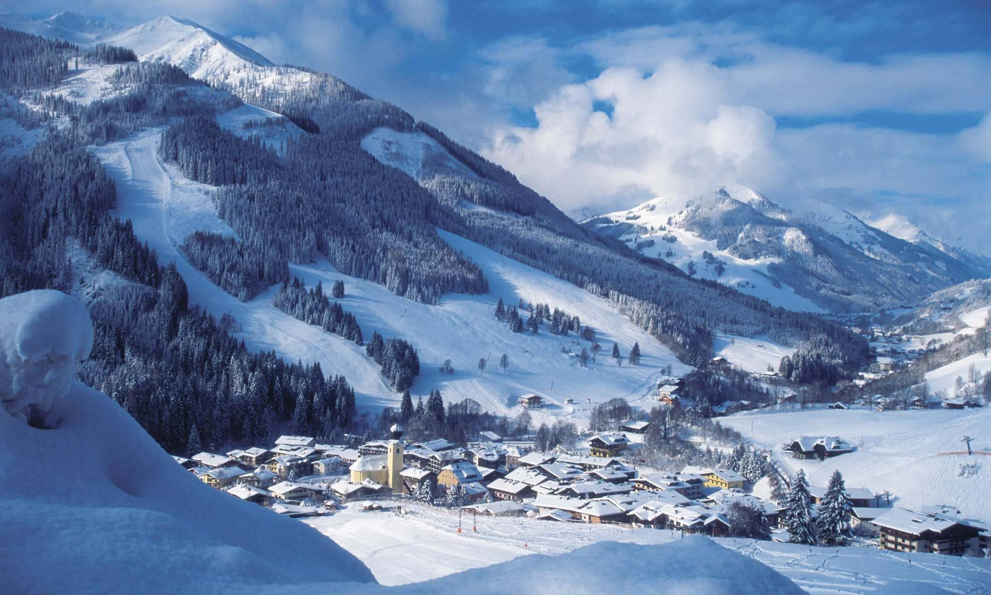 在奧地利的房地產 - Hotel in Saalbach - ski in and ski-out
