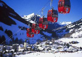 Real Estate in Austria - Hotel in Saalbach - ski in and ski-out