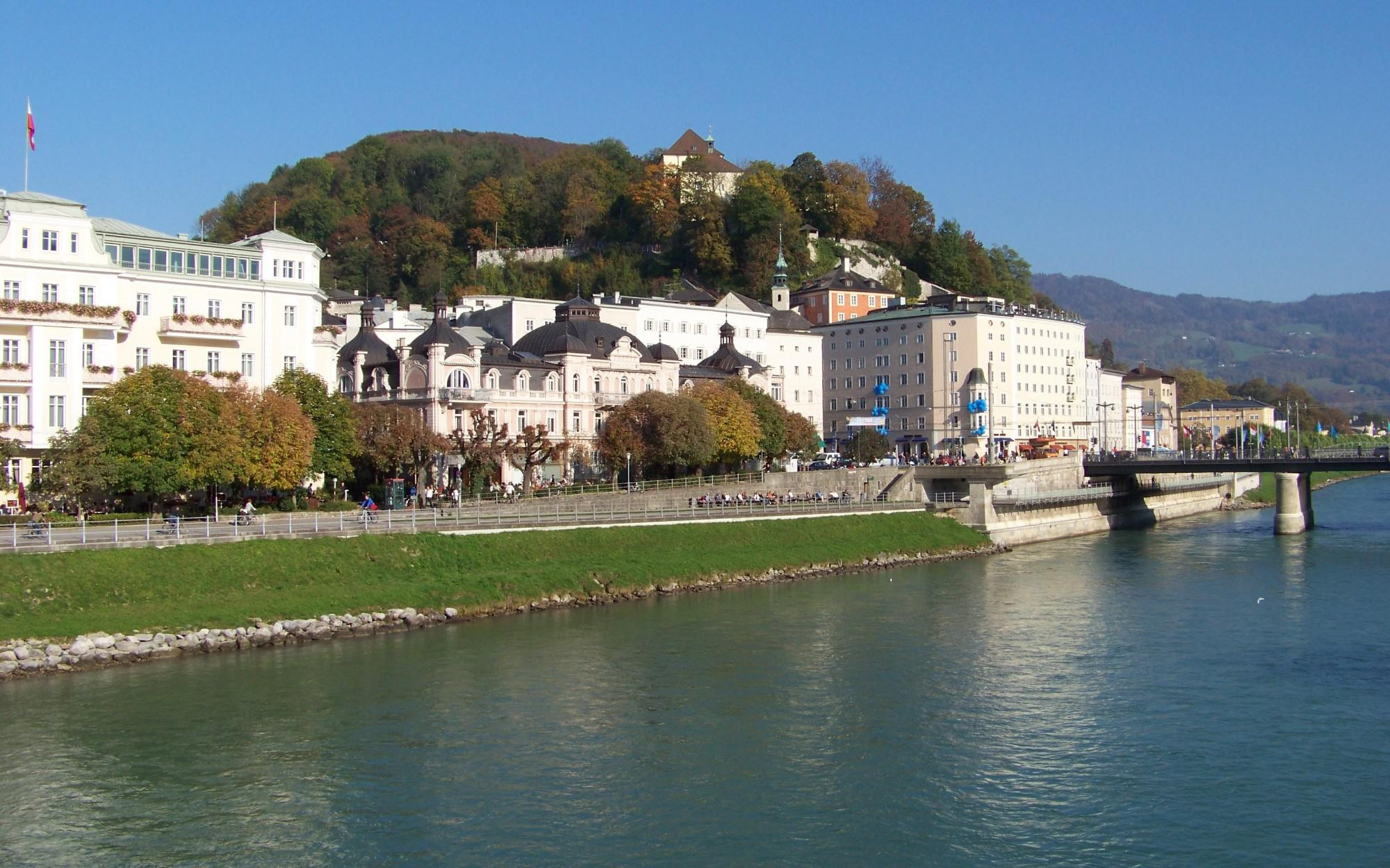 العقارات في النمسا - Hotel-project in panoramic city location in Salzburg