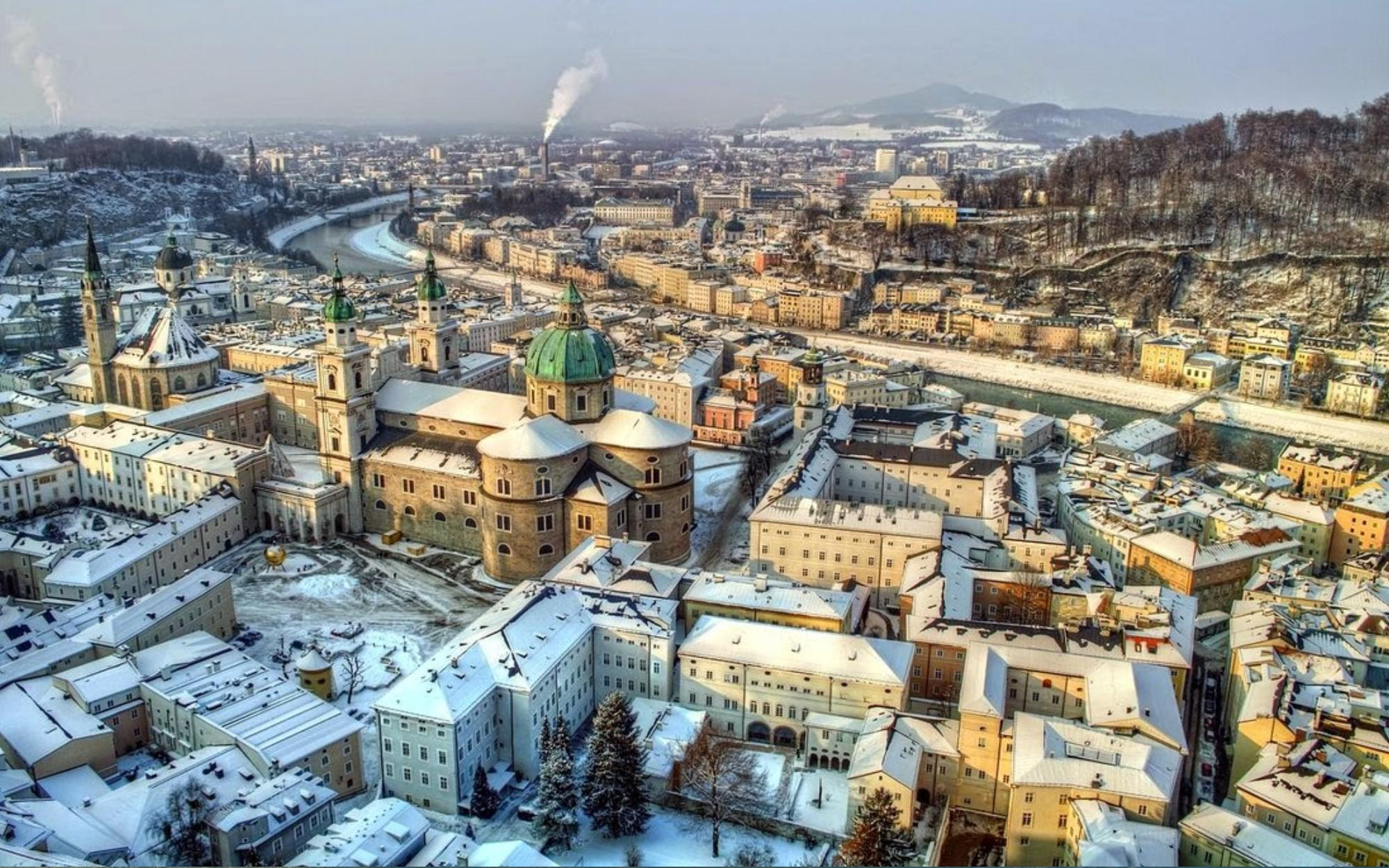 Hotel-project in panoramic city location in Salzburg for Sale