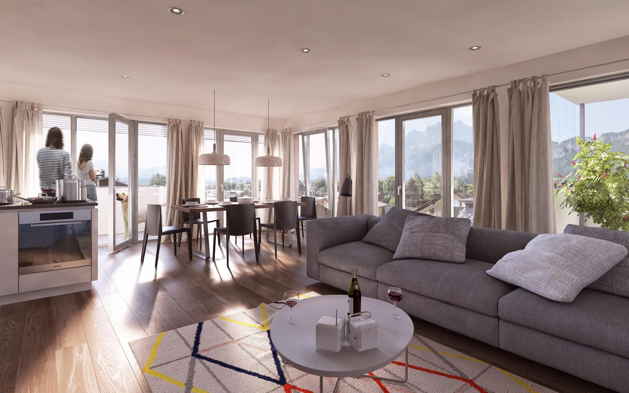 Modern residential project in St. Johann SOLD - Austria - Tirol
