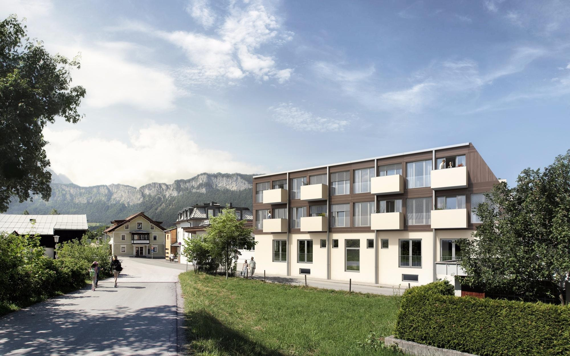 Modern residential project in St. Johann for Sale