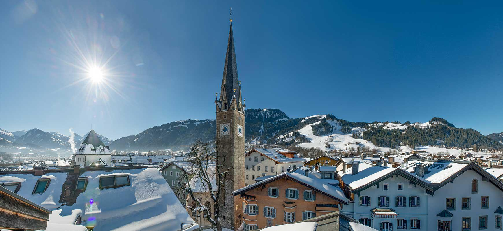 Popular Hotel in finest location in Kitzbuehel