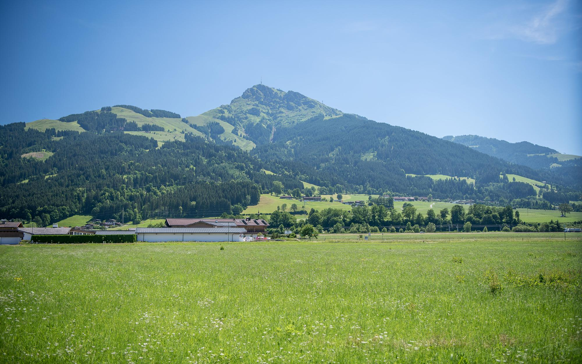 Idyllic plot with rustic farmhouse in Oberndorf for Sale