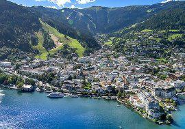 Property with unobstructable lake view in Zell am See For Sale