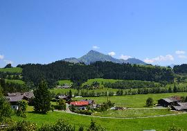 Real estate in Austria - Tirol - Reith near Kitzbuehel - Plot on a hillside with panorama view in Reith by Kitzbühel  for sale