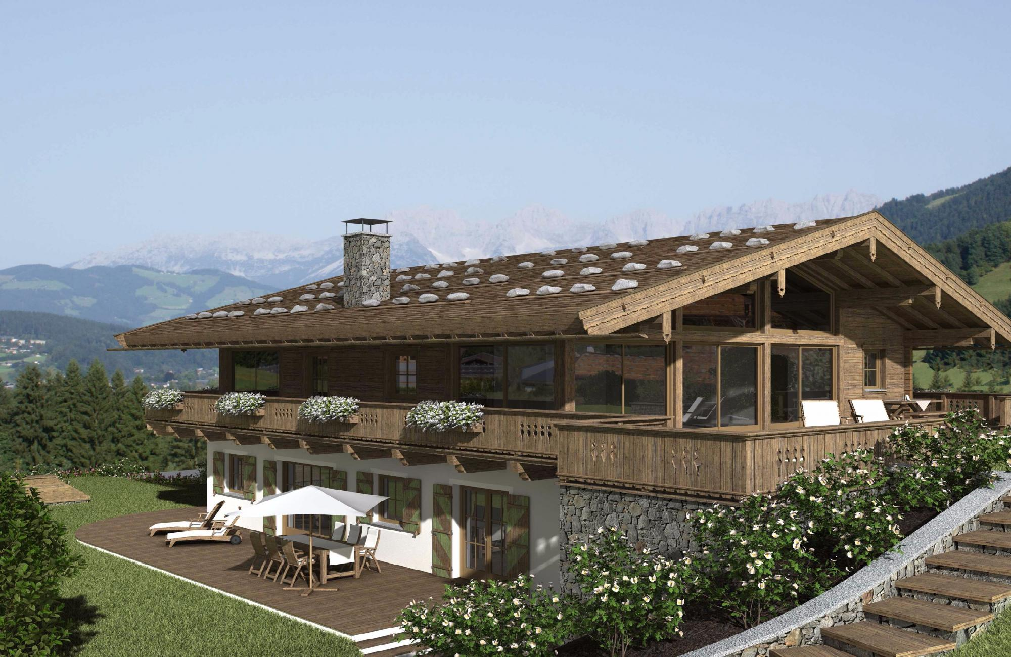 Fantastic plot in an exclusive location in Kitzbuhel
