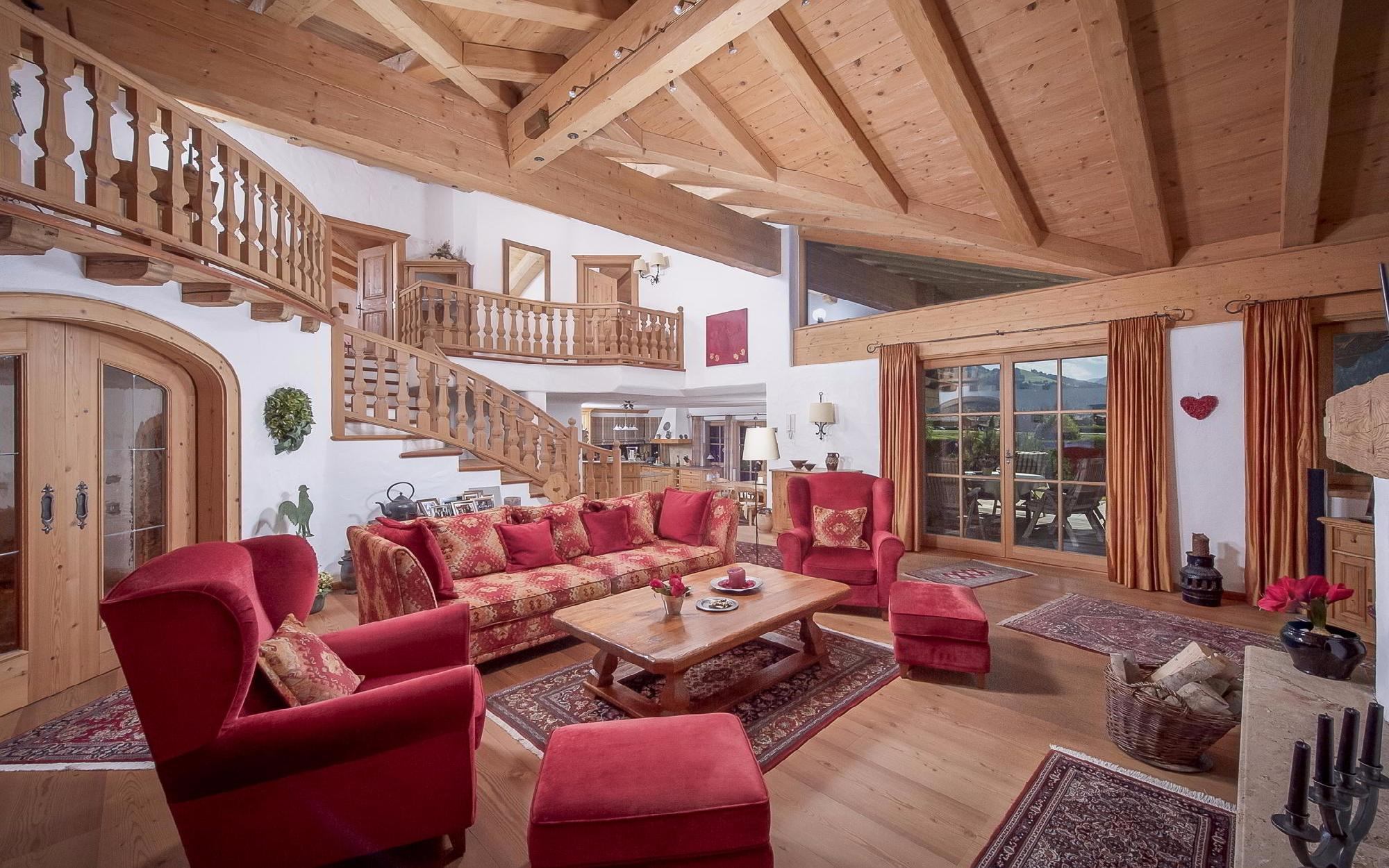 Onroerend goed in Oostenrijk - Quality country house in Tyrolean style close to Kitzbuehel