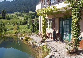 Lakeside Real Estate in Austria - Comfortable country villa with a lake view in village of Walchsee for sale