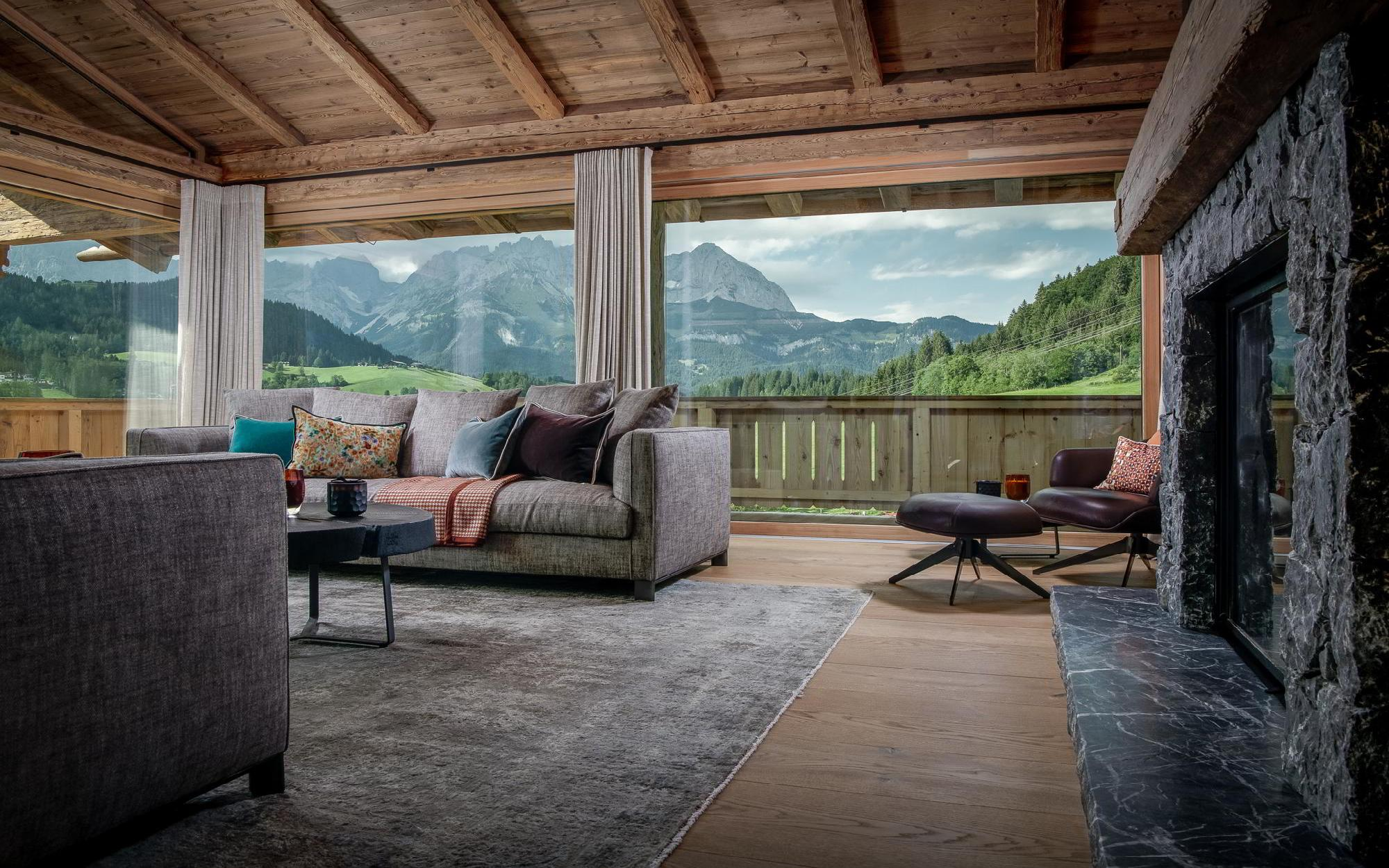 Luxury Designer Chalet in famous Alpine region for Sale