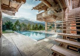 Real estate in Austria - Tirol - Luxury Designer Chalet in famous Alpine region For Sale - Reith near Kitzbuehel -