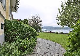 Real Estate in Switzerland - Historic Villa directly on the beautiful Lake Bodensee for sale