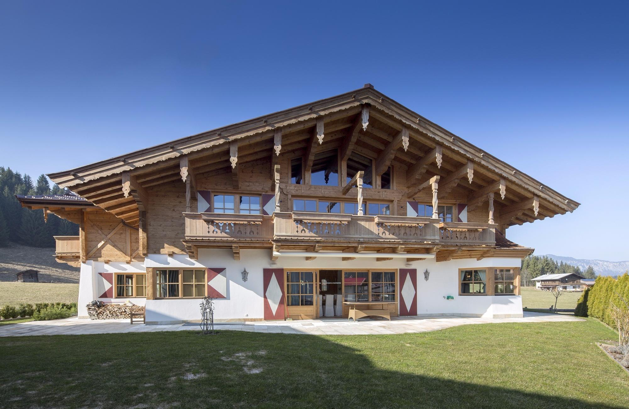 Grand Country House-Chalet in Reith