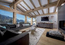 Real Estate in Austria - Newly built chalet with guest house in Kitzbühel