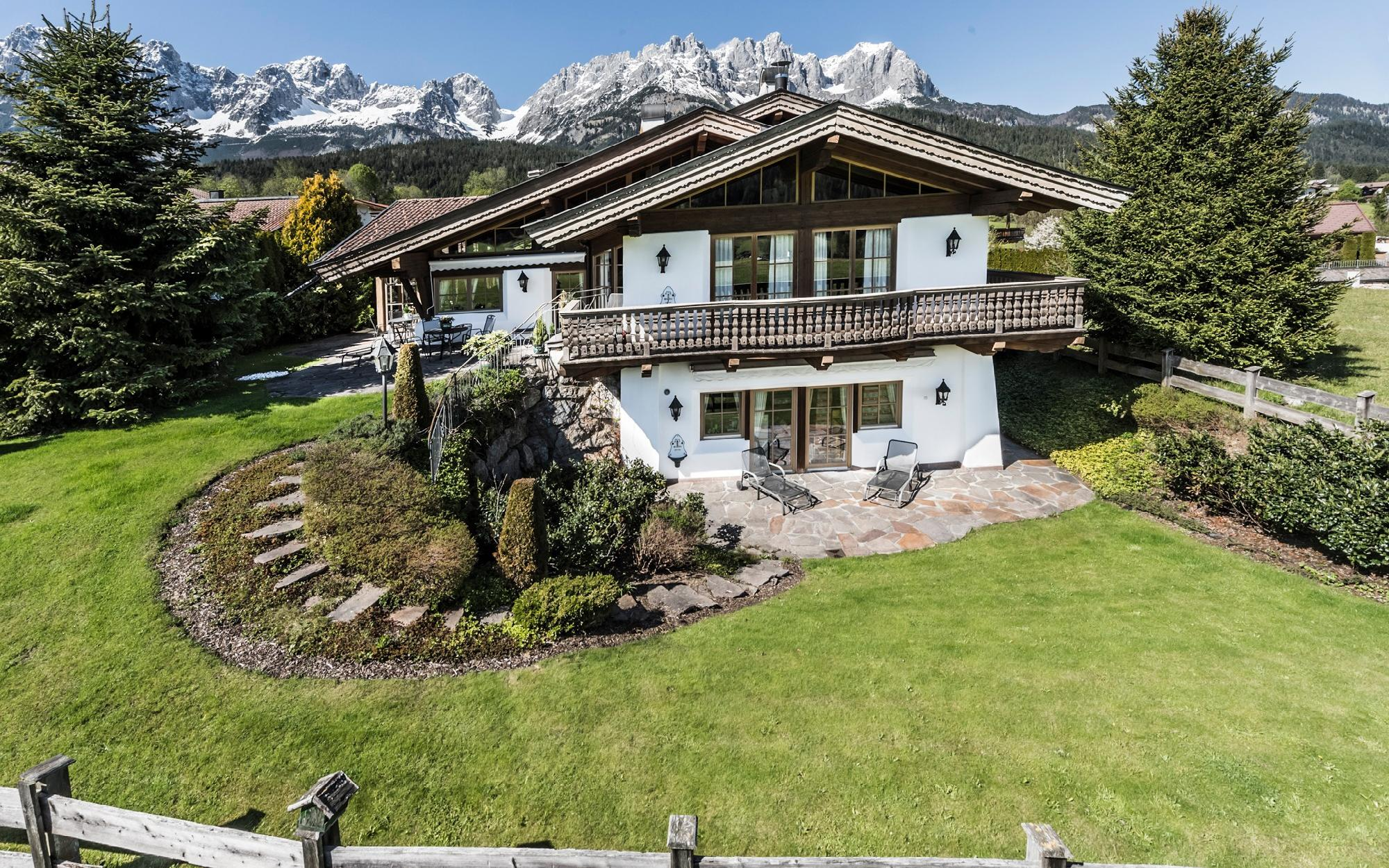 Tyrolean Traditional Chalet in a prime location of Going For Sale - Going am Wilden Kaiser