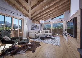 Real Estate in Austria - Furnished luxury chalets in a sunny location in Fieberbrunn
