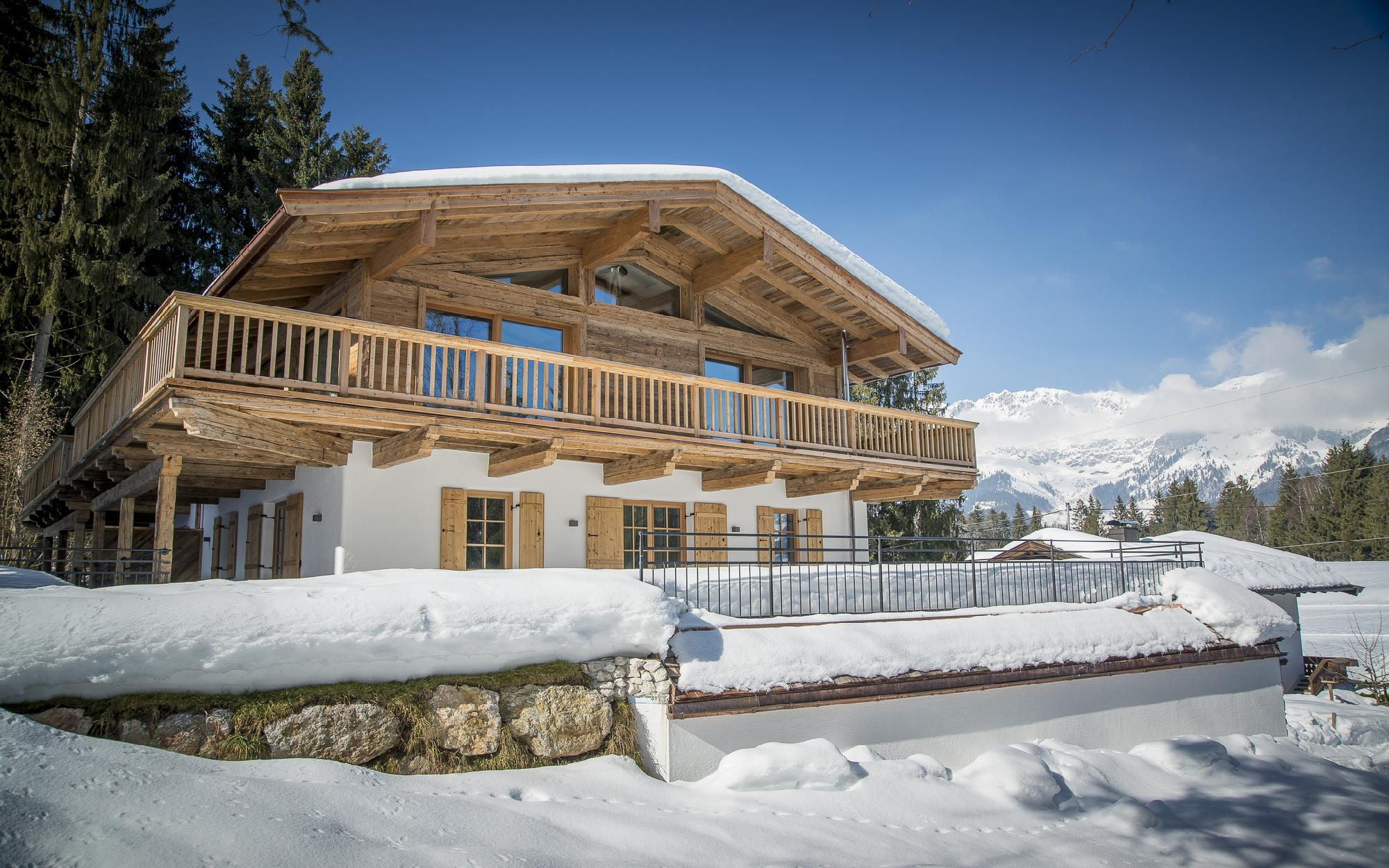 Newly built semi-detached house in Ellmau for Sale - Tirol - Austria