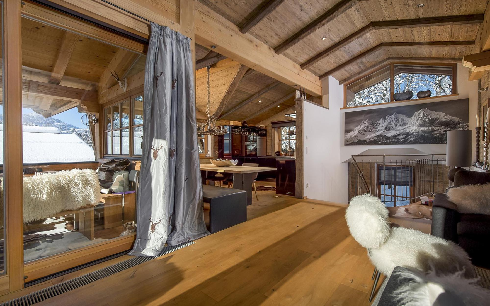 Exclusive chalet in a prime location of Kitzbühel for Sale