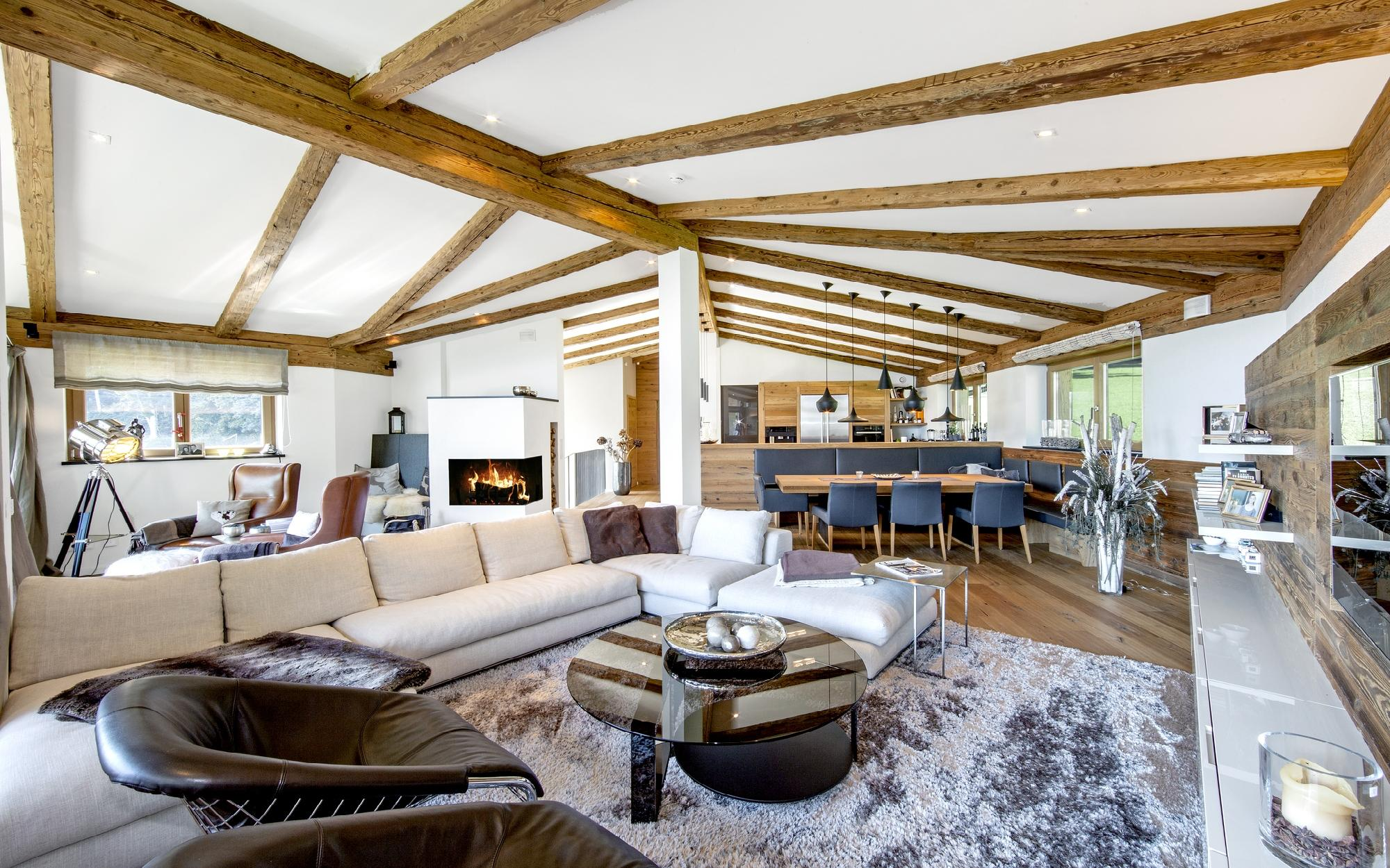 Luxury chalet with a broad alpine view in Reith near Kitzbühel for Sale