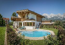 Real Estate in Austria for Skiing - `Ski in - Ski out` House between Going & Ellmau for sale