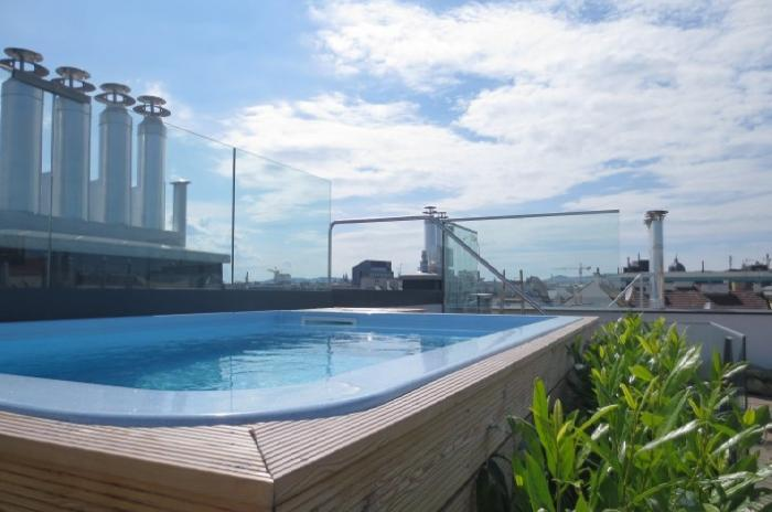 Immobilier en Autriche - Exclusive penthouse with pool and hotel service