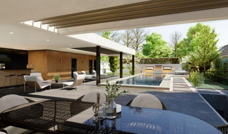 Luxurious mansion with a pool in the suburb of Vienna for Sale