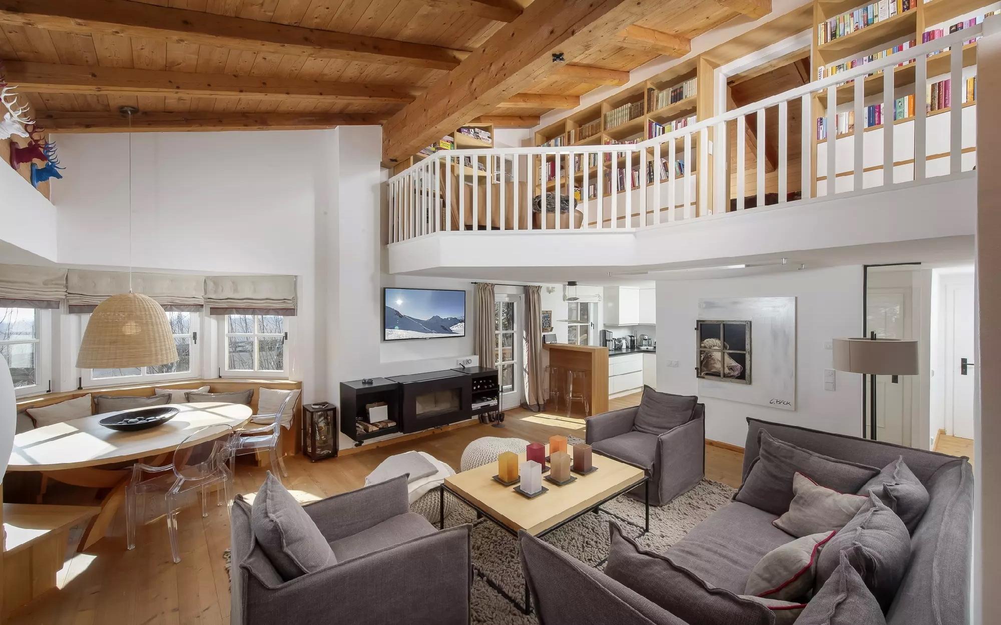Teil eines österreichischen Hauses mit unverbaubarer Aussicht zu verkaufen - Österreich - Tirol