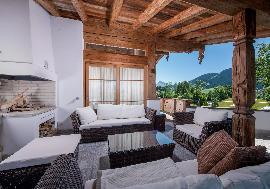 Недвижимость в Австрии - Альпийское шале в Эльмау в солнечном месте
