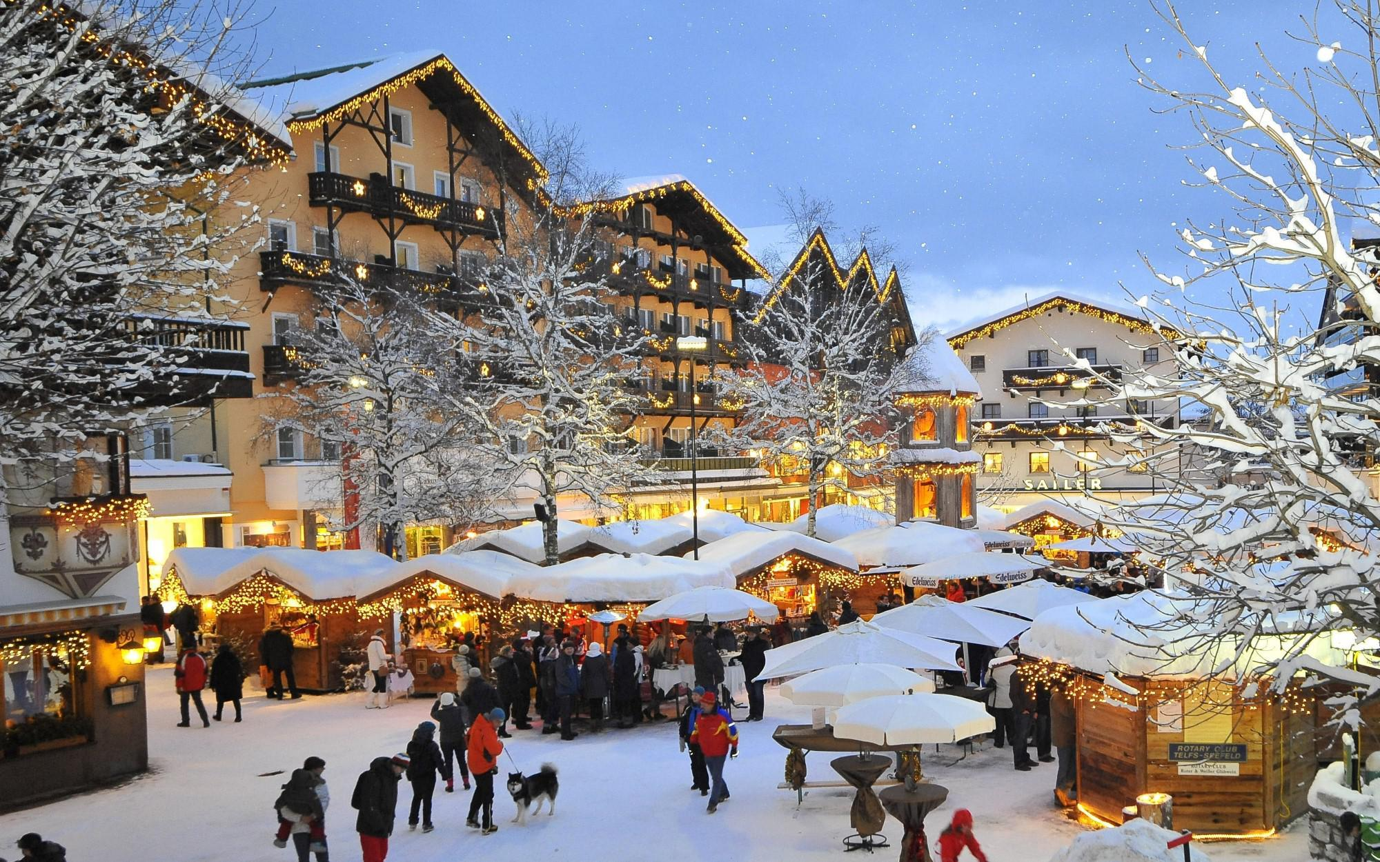 Traditional Hotel in the ski village of Seefeld in Tirol for Sale